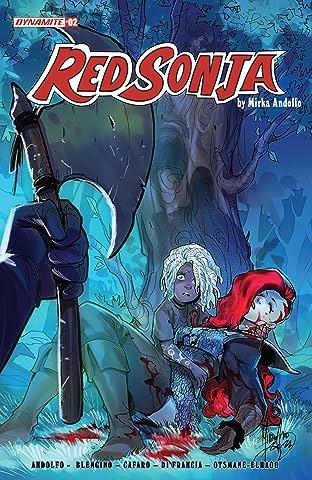 Red Sonja (2021-) #2