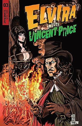Elvira Meets Vincent Price #3