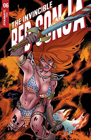 The Invincible Red Sonja #6