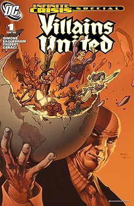 Villains United Infinite Crisis Special