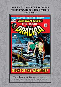 Tomb of Dracula Masterworks Vol. 1
