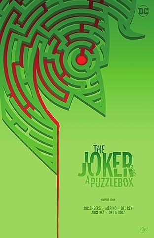 The Joker Presents: A Puzzlebox (2021-) #7: Director's Cut