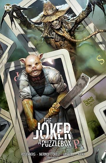The Joker Presents: A Puzzlebox (2021-) #8: Director's Cut