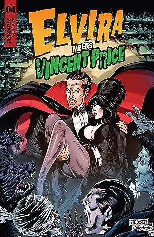 Elvira Meets Vincent Price #4