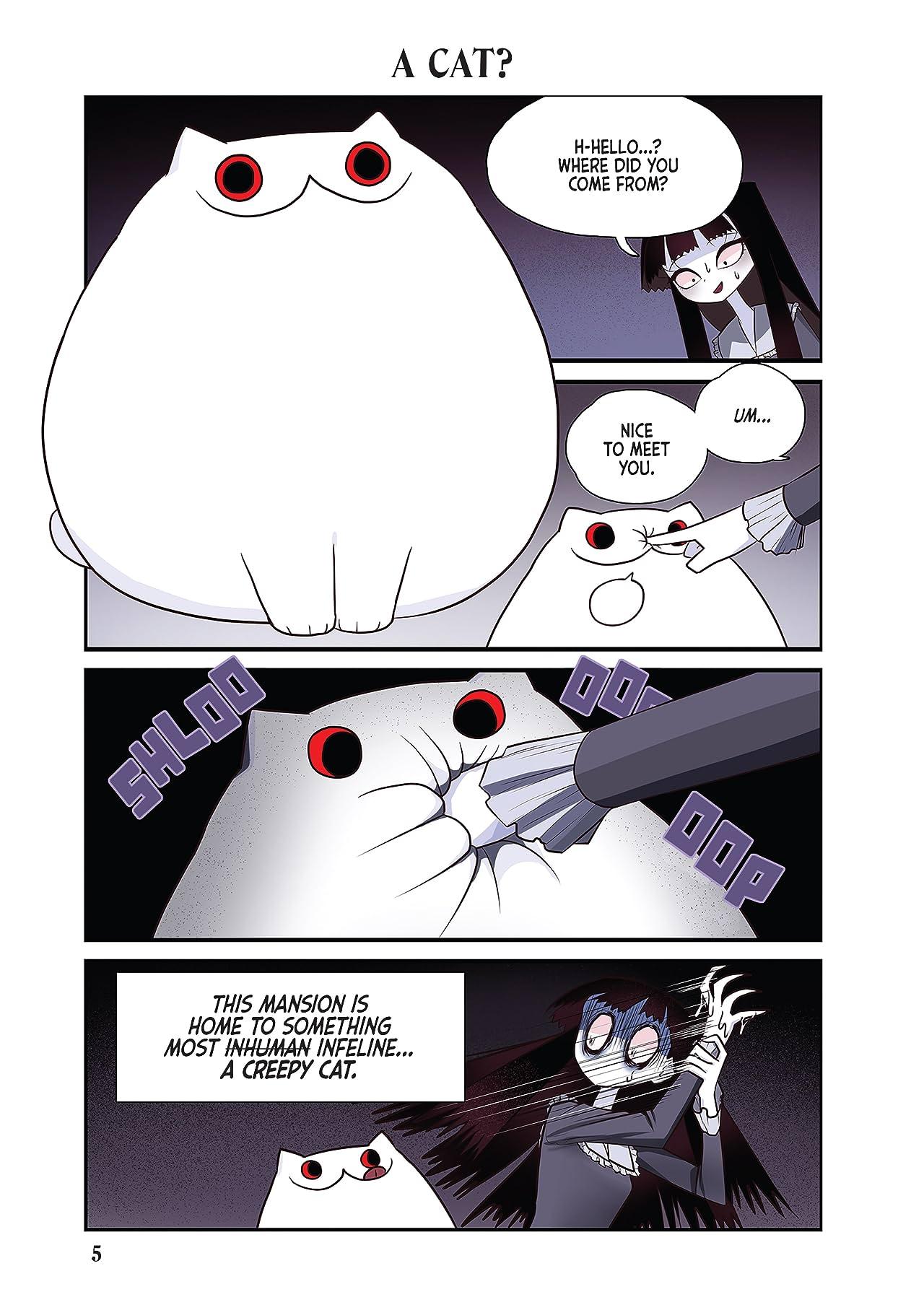 Creepy Cat Vol. 1