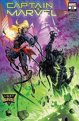 Captain Marvel (2019-) #34