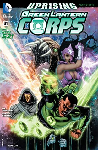 Green Lantern Corps (2011-2015) #31