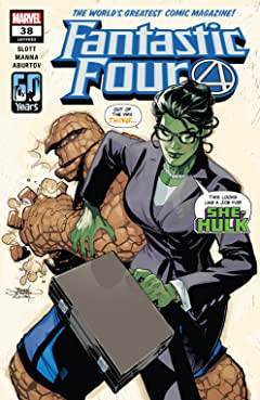 Fantastic Four (2018-) #38