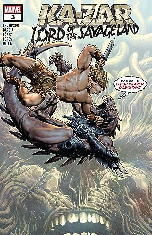 Ka-Zar Lord of the Savage Land (2021) #3 (of 5)