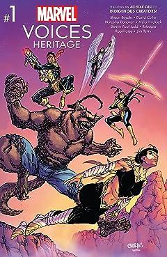 Marvel's Voices: Heritage (2021) #1