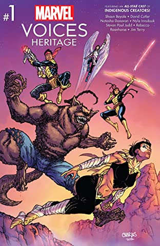 Marvel's Voices: Heritage (2021) No.1