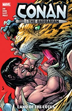Conan The Barbarian by Jim Zub Vol. 2: Land Of The Lotus