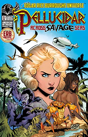 Pellucidar Across Savage Seas #1