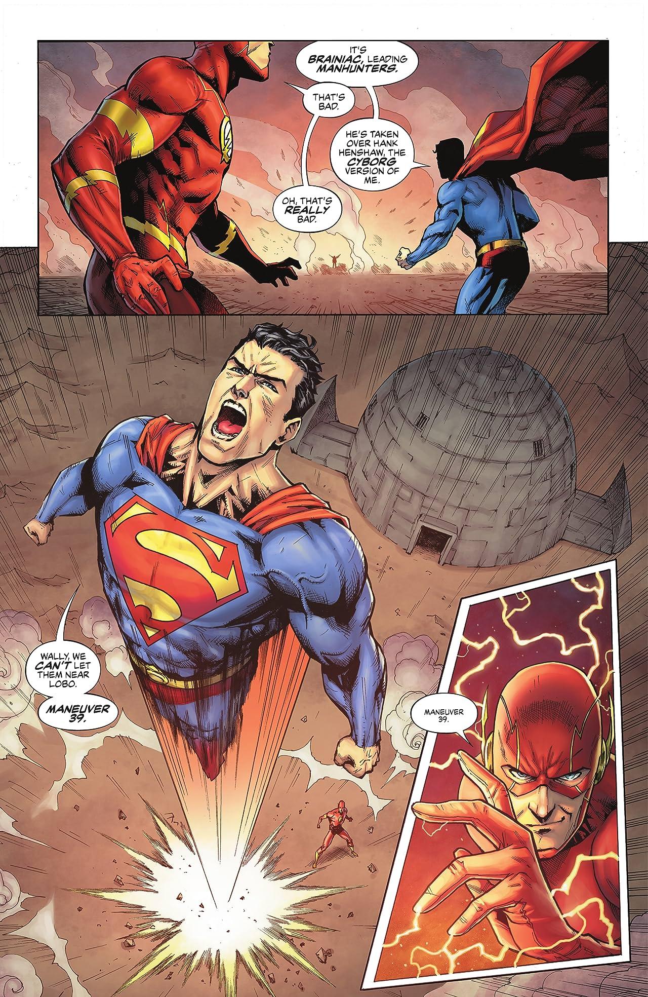 Justice League: Last Ride (2021-) #5