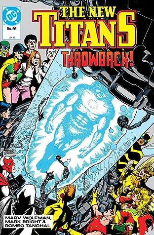 The New Titans (1984-1996) #56