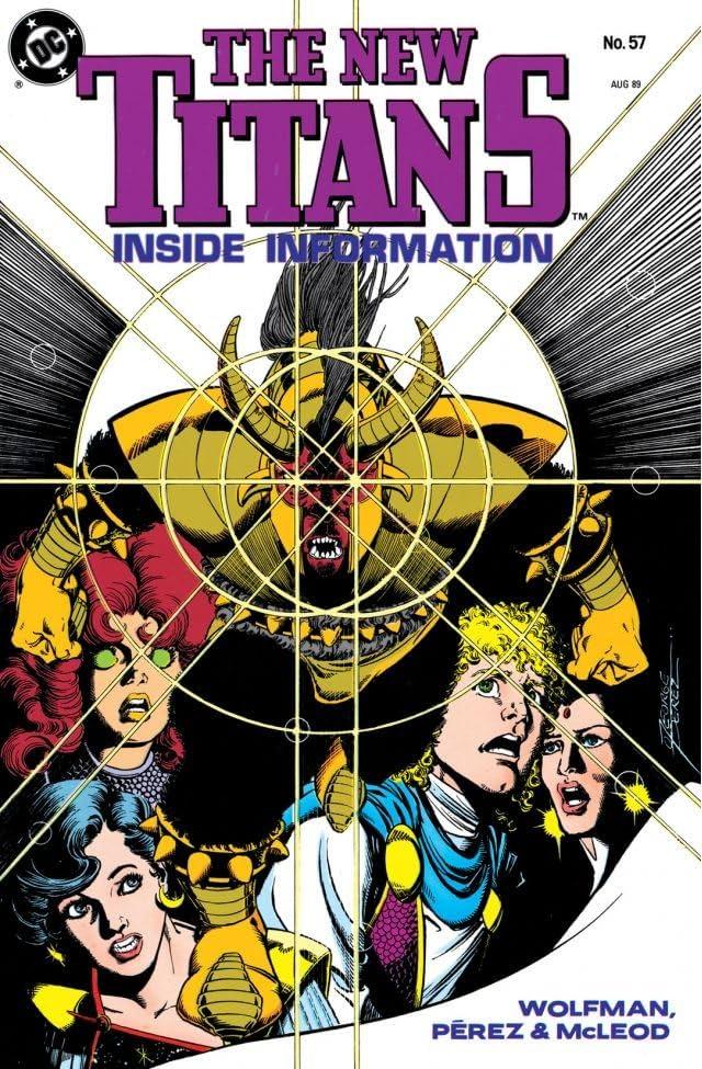 The New Titans (1984-1996) #57