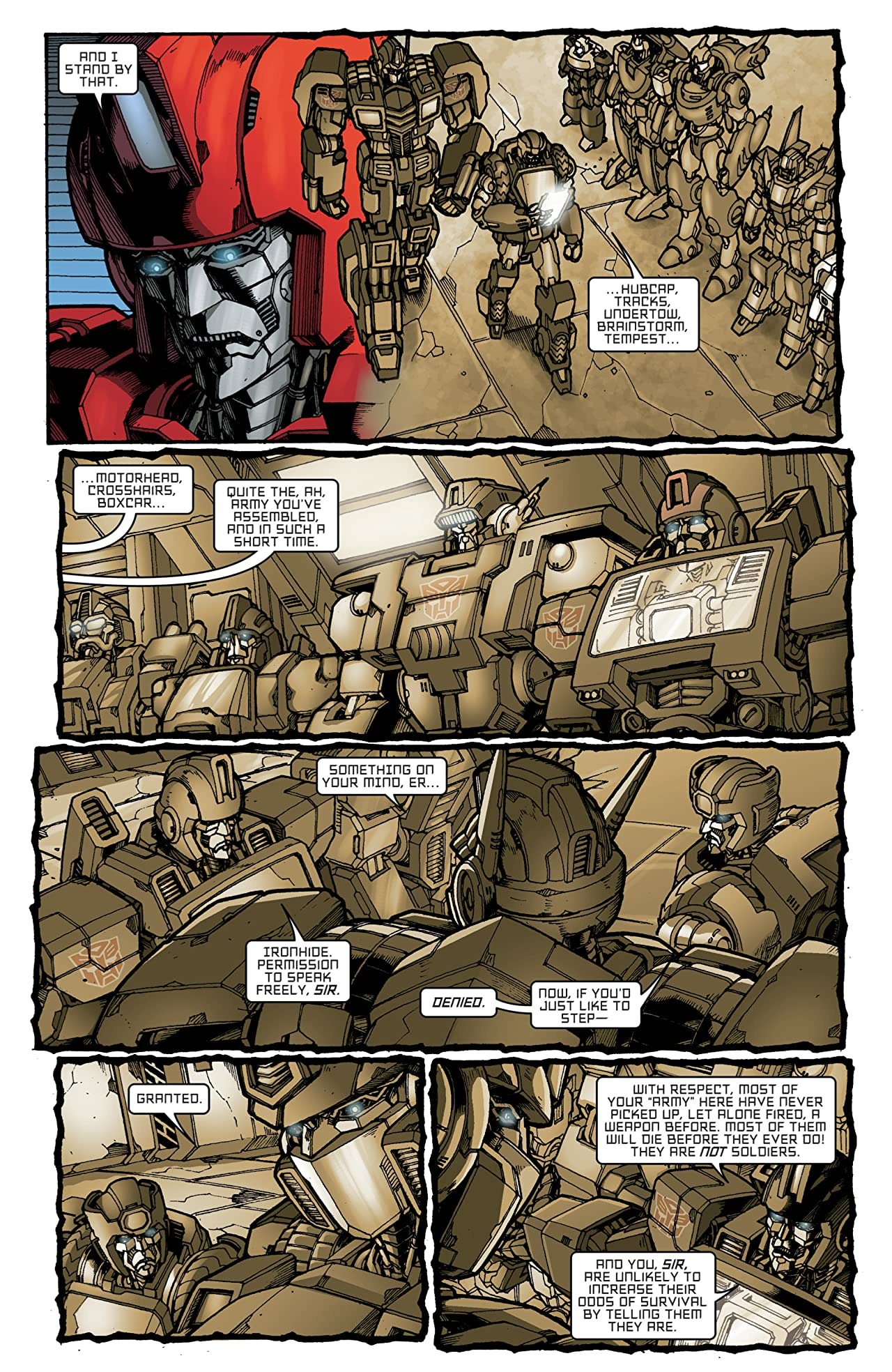 Transformers: All Hail Megatron #13