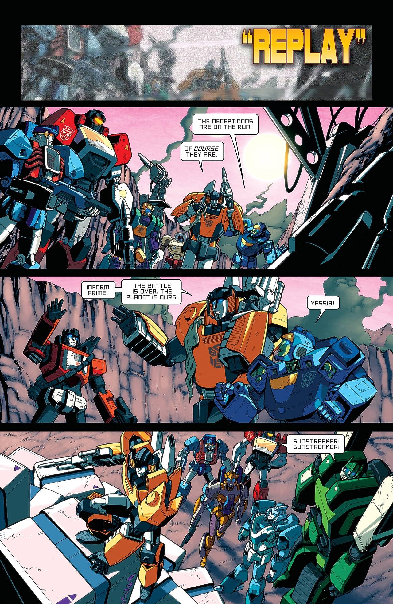 Transformers: All Hail Megatron #14