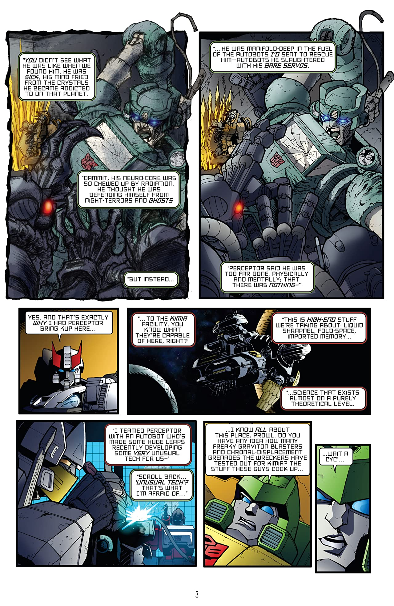 Transformers: All Hail Megatron #15