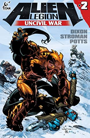 Alien Legion: Uncivil War No.2