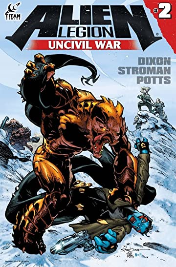 Alien Legion: Uncivil War #2