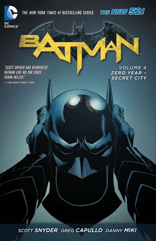 Batman (2011-2016) Tome 4: Zero Year- Secret City