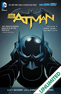 Batman (2011-2016) Vol. 4: Zero Year- Secret City