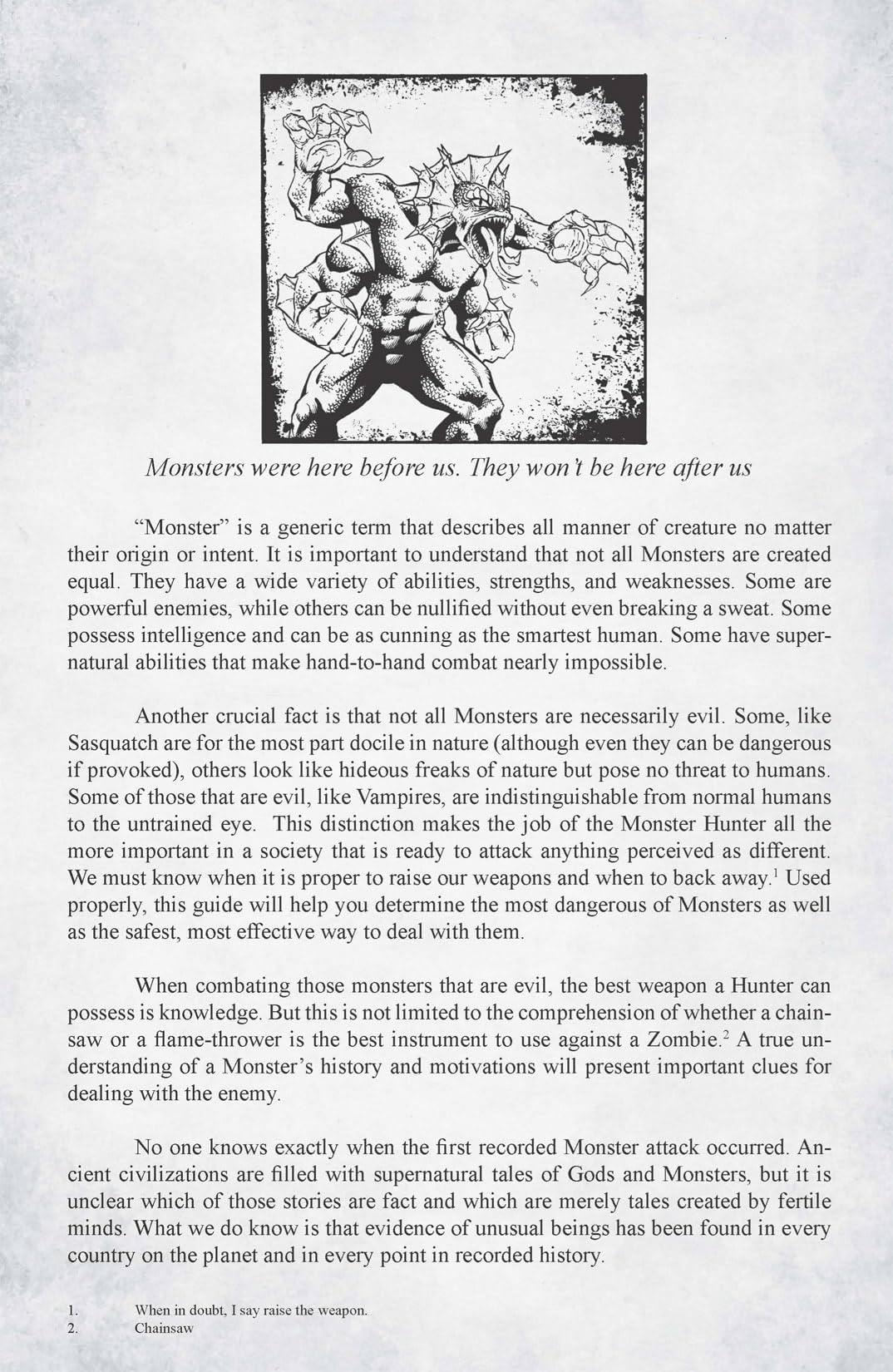 Monster Hunter's Survival Guide #1 (of 5)