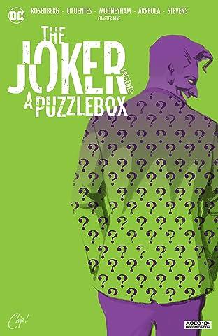 The Joker Presents: A Puzzlebox (2021-) #9: Director's Cut