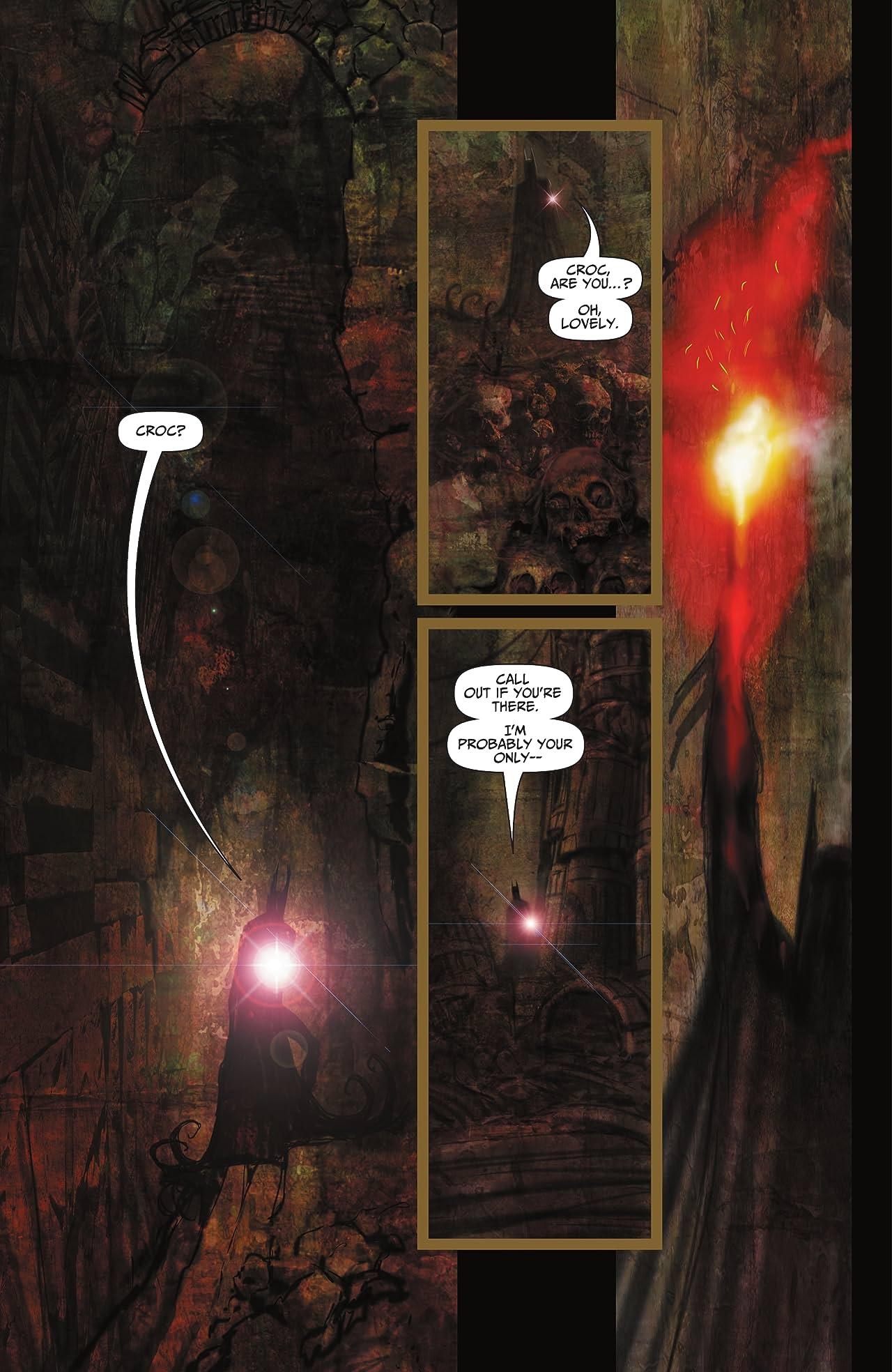 Batman: Reptilian (2021-) #4
