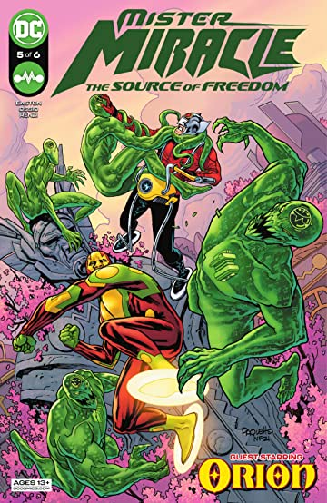 Mister Miracle (2021) #5: The Source of Freedom