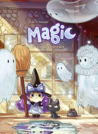 Magic Tome 1: The Girl with Purple Hair