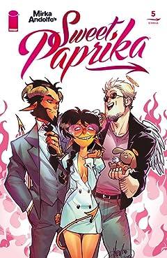 Mirka Andolfo's Sweet Paprika #5 (of 12)