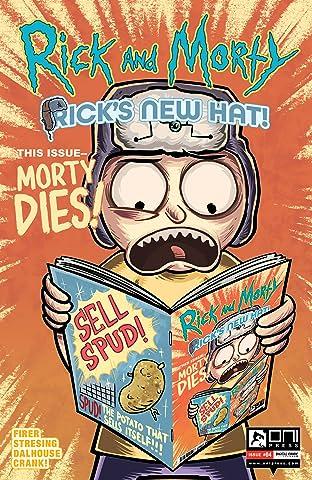 Rick and Morty No.4: Rick's New Hat