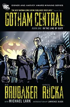 Gotham Central: Book 1: In the Line of Duty