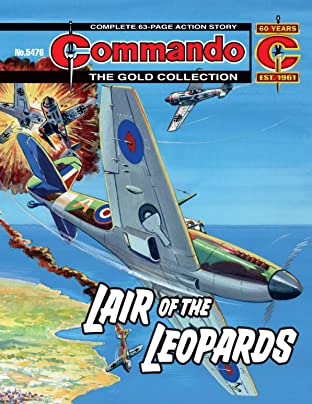 Commando #5476: Lair Of The Leopards