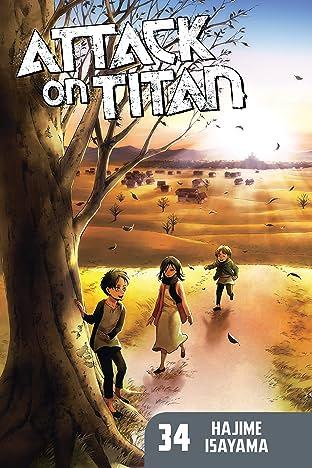 Attack on Titan Tome 34