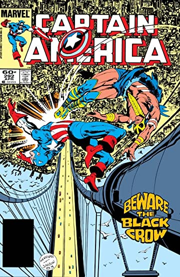 Captain America (1968-1996) #292