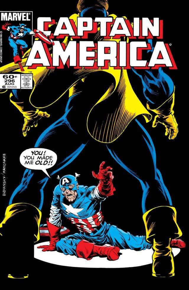 Captain America (1968-1996) #296