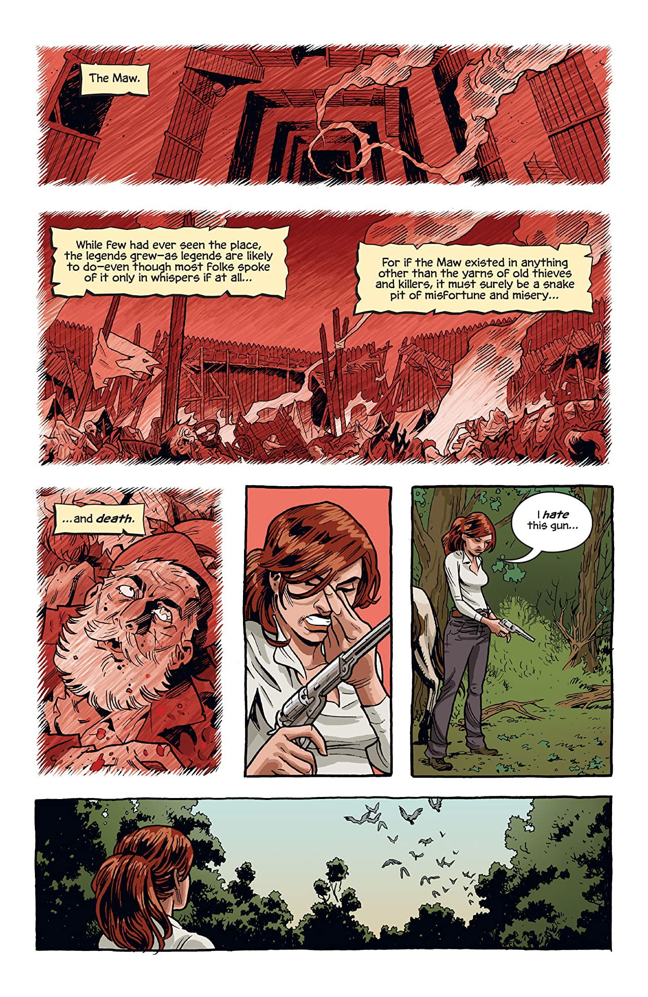 The Sixth Gun #5
