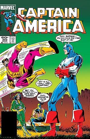 Captain America (1968-1996) #303