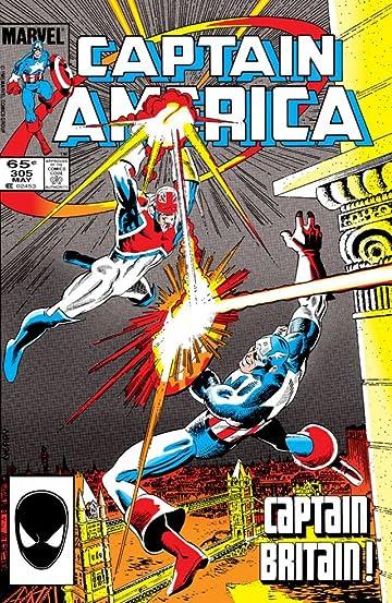 Captain America (1968-1996) #305