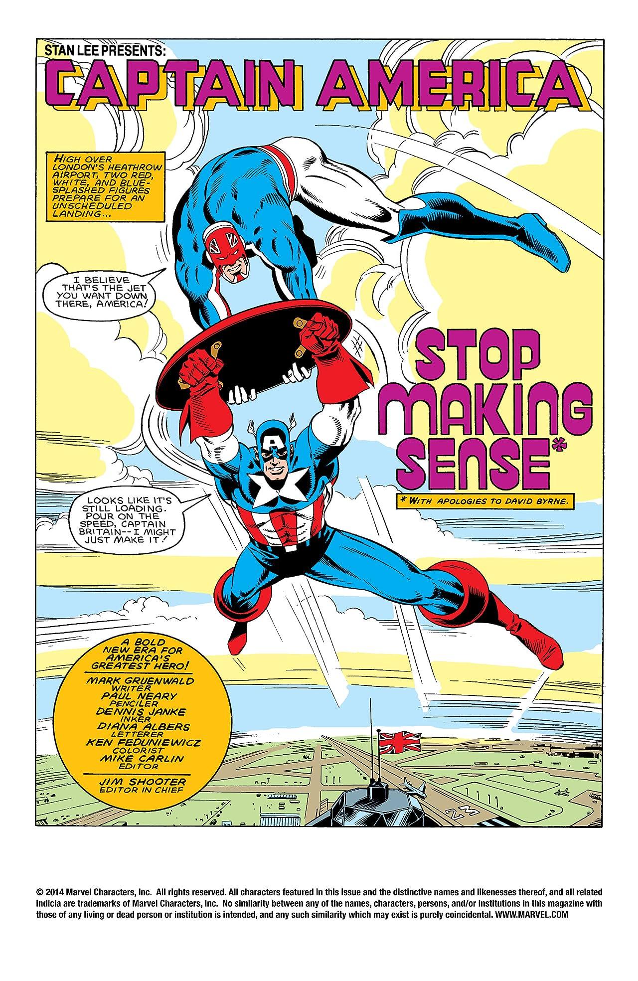 Captain America (1968-1996) #307