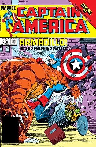 Captain America (1968-1996) #308