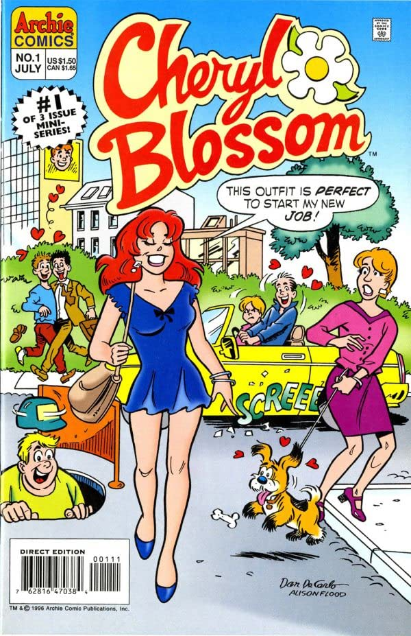 Cheryl Blossom: Get a Job #1 (of 3)