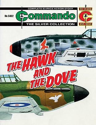 Commando #5482: The Hawk And The Dove