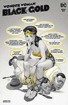 Wonder Woman Black & Gold (2021-) #5