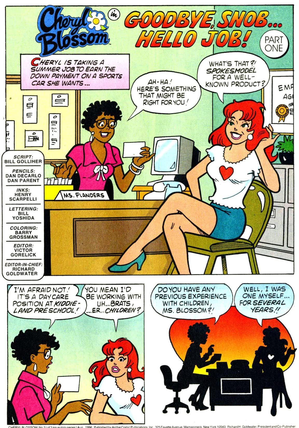 Cheryl Blossom: Get a Job #2 (of 3)