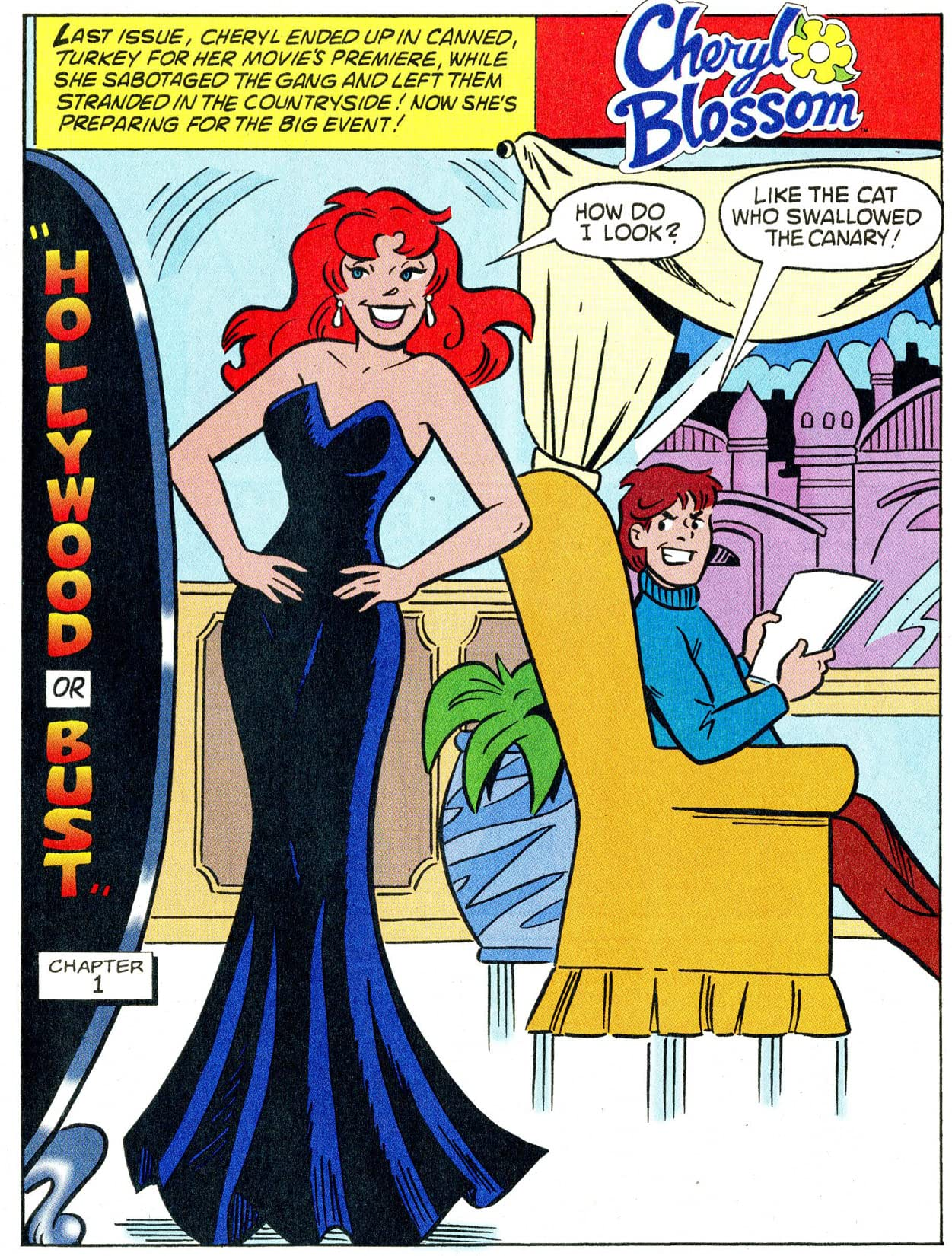 Cheryl Blossom: Goes to Hollywood #3 (of 3)