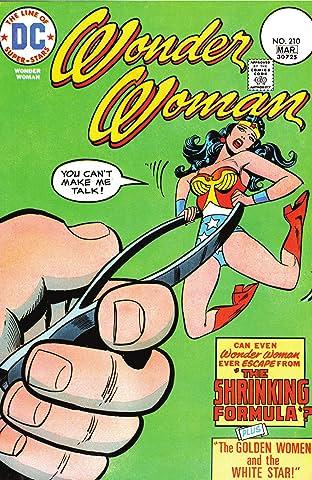 Wonder Woman (1942-1986) #210